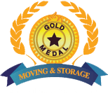 gold medal moving and storage logo